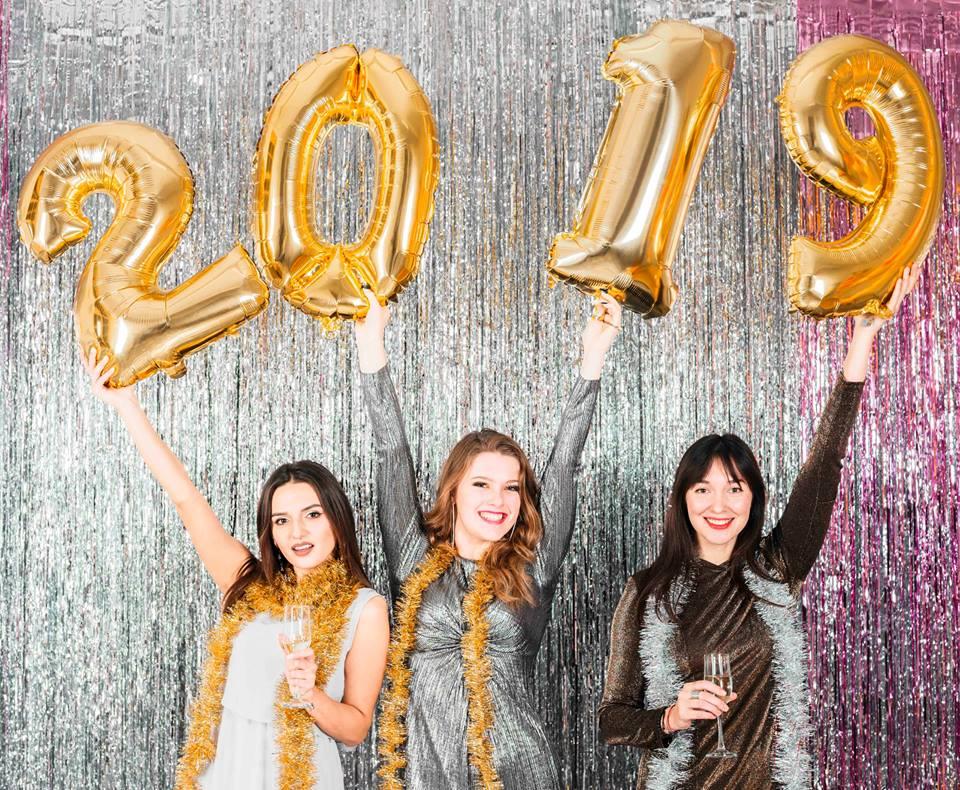 Balões para o Ano Novo