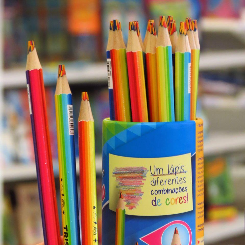 Lápis de cor Tris Raibow
