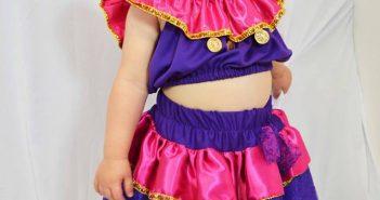 Fantasias infantis para o Carnaval